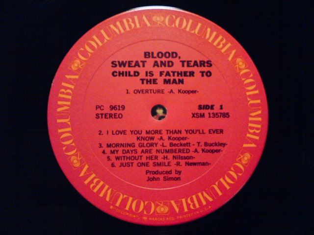 Child Is Father To The Man / Blood Sweat & Tears_c0104445_22253390.jpg