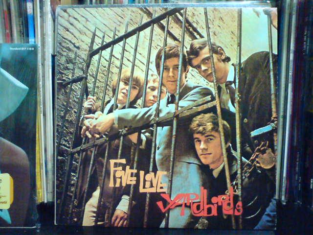 Five Live Yardbirds / The Yardbirds_c0104445_22322045.jpg