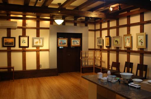 第一回・蔵織 日本画塾作品展が始まりました。_d0178448_16404985.jpg
