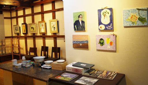第一回・蔵織 日本画塾作品展が始まりました。_d0178448_164123.jpg