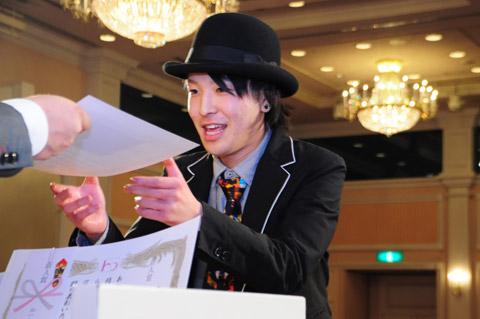 【brace】2013年新年会 5.表彰式Ⅲ 新人賞_c0080367_14165669.jpg