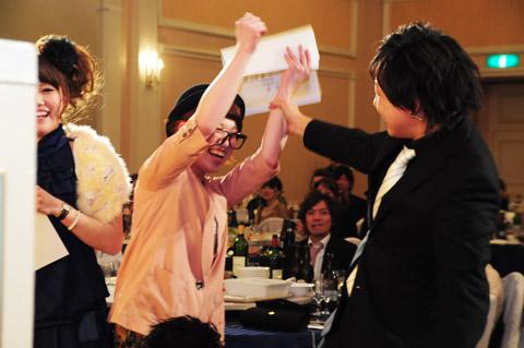【brace】2013年新年会 5.表彰式Ⅲ 新人賞_c0080367_14181589.jpg