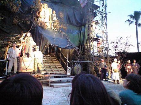 『NADJA 夜と骰子とドグラマグラ』開幕 (水族館劇場)_b0005281_16554623.jpg