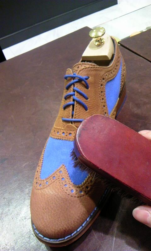 コンビ靴の強-い味方!_b0226322_18213957.jpg