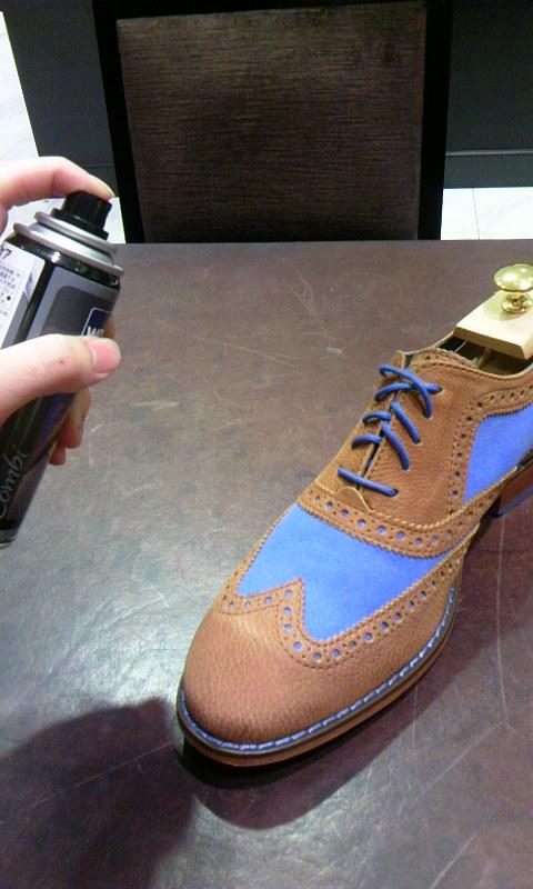 コンビ靴の強-い味方!_b0226322_18233789.jpg