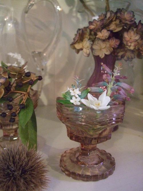 オークリーフ(黒い八重のクリスマスローズと、安行桜)_f0049672_1891016.jpg