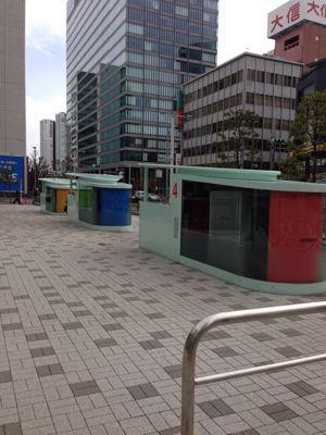街の風景〜品川駐輪場〜_f0087202_0575569.jpg