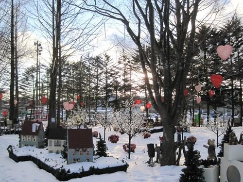 Valentine in Karuizawa ❤ 矢ヶ崎公園 / FEILER New Open!!_f0236260_0524191.jpg