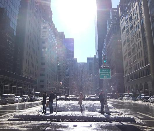 大雪後のマンハッタンの様子_b0007805_8221068.jpg