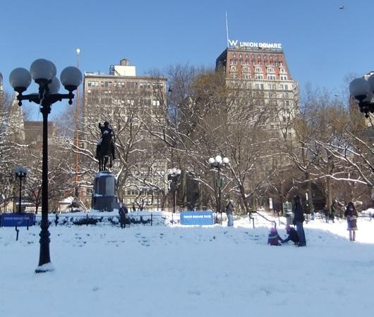 大雪後のマンハッタンの様子_b0007805_8233681.jpg