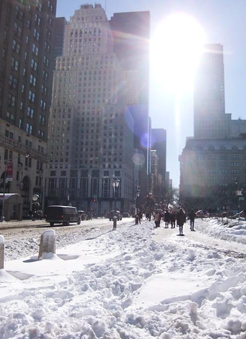 大雪後のマンハッタンの様子_b0007805_826958.jpg