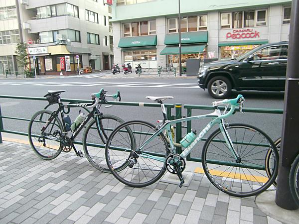 【チャリ】Bianchi Cafeまで自転車で走ろうキャンペーン!_a0293131_111179.jpg