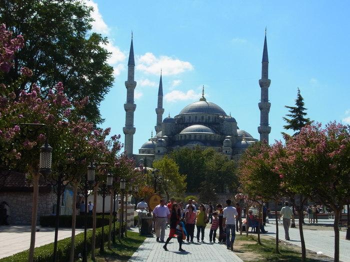 イスタンブールのブルーモスク_d0116009_5241537.jpg