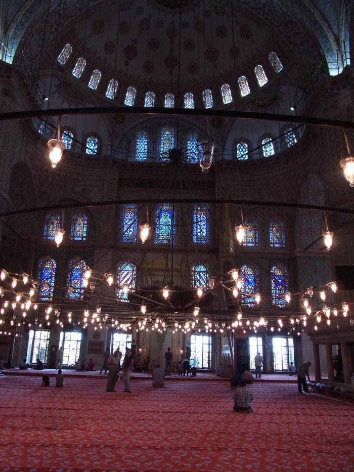 イスタンブールのブルーモスク_d0116009_5383585.jpg