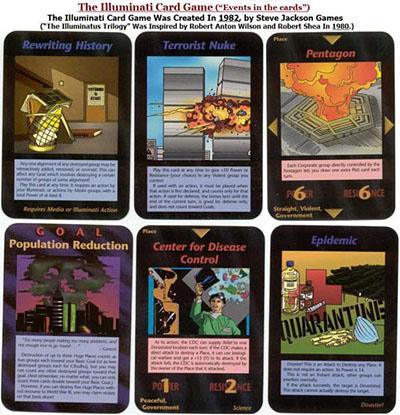カード 全 種類 イルミナティ
