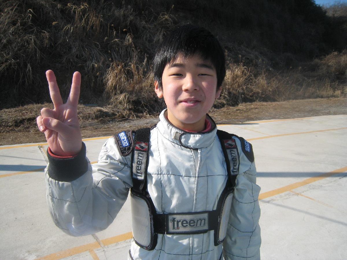 2月11日(祝・月)ジュニア占有走行日~ドライバー編~_c0224820_1653139.jpg