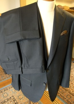 彼に【TUWAMONOスーツ】をプレゼントしました 編_c0177259_1535420.jpg
