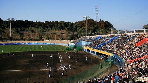 冬の宮崎は・・・プロ野球のキャンプだね_d0030373_20261781.jpg