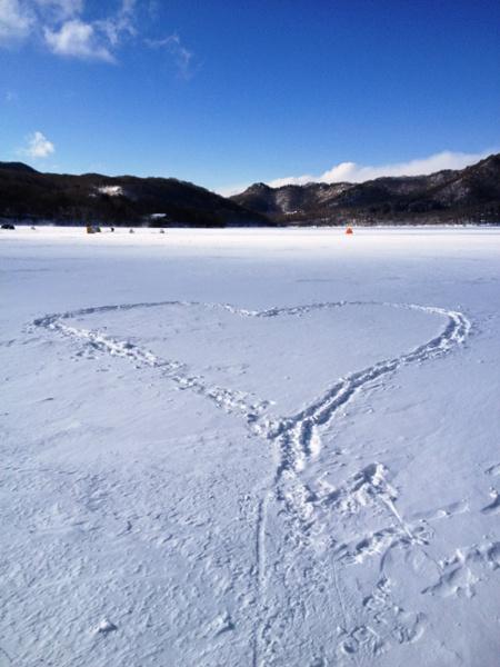 冬の赤城山-大沼氷上ハイク_c0177814_1854687.jpg