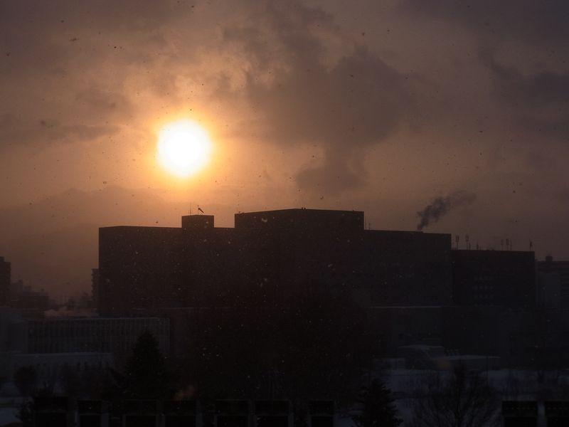 寒い一日、アマゾンのクレームの処理の速さにびっくり_c0025115_17371579.jpg