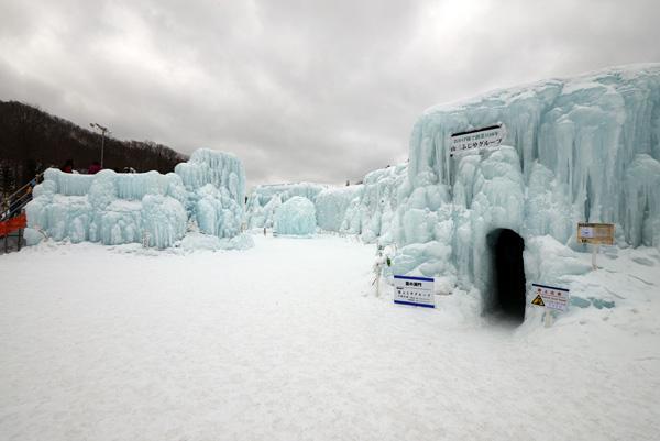 支笏湖 氷濤まつり_b0175635_0445136.jpg