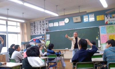 青山小学校6年1組 道徳「夢 希望」_b0096957_18182810.jpg