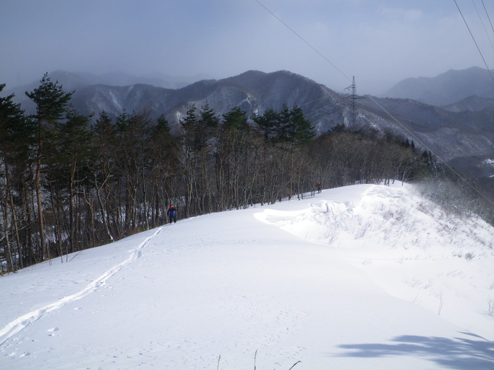 北蔵王 茶畑尾根から水無沢滑降 ~ 2013年2月9日_f0170180_2138665.jpg