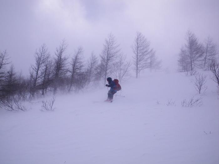 北蔵王 茶畑尾根から水無沢滑降 ~ 2013年2月9日_f0170180_22231215.jpg