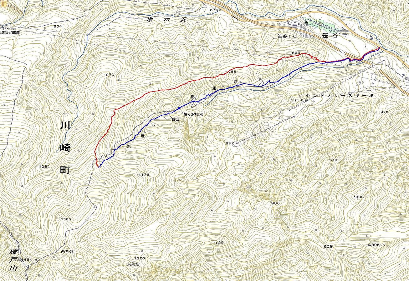 北蔵王 茶畑尾根から水無沢滑降 ~ 2013年2月9日_f0170180_2346384.jpg