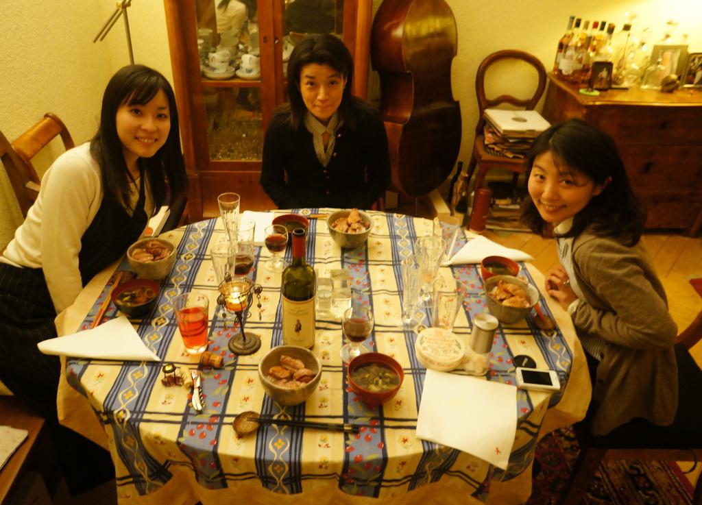 楽しいリハ+美味しい晩餐。_c0180686_2232455.jpg