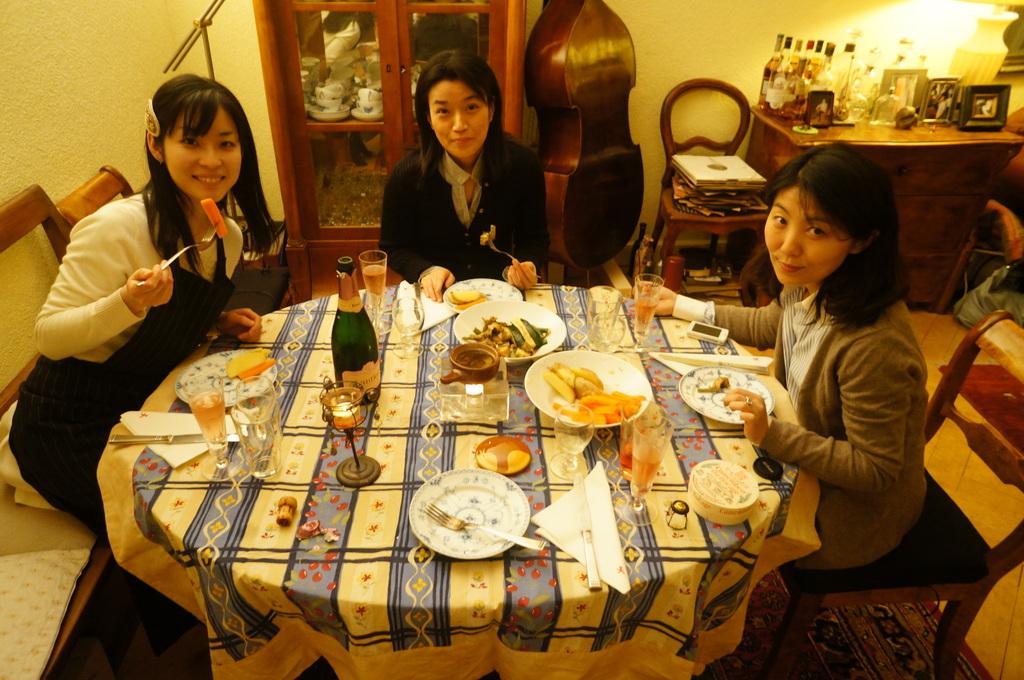楽しいリハ+美味しい晩餐。_c0180686_2233496.jpg