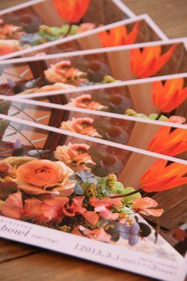 Flower art bowl(spring)_d0086634_14122366.jpg