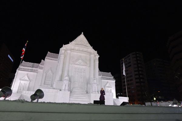 札幌雪祭り2〜北広昌雪祭りライブ_b0175635_19152642.jpg