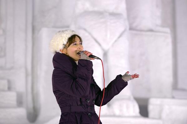 札幌雪祭り2〜北広昌雪祭りライブ_b0175635_20431686.jpg