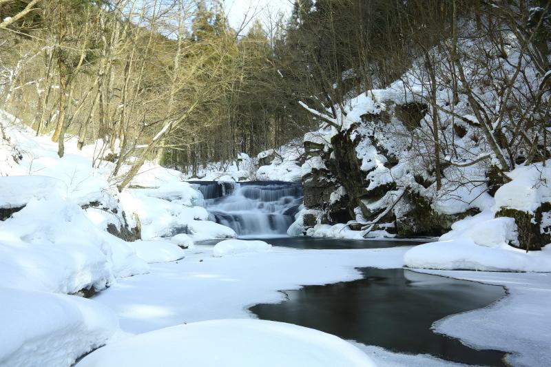 真冬の白滝_e0183063_16374537.jpg