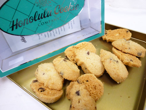 Choc Chip Macadamia Mini Bites Frosted Window Gift Box@Honolulu Cookie Company_c0152767_21459100.jpg