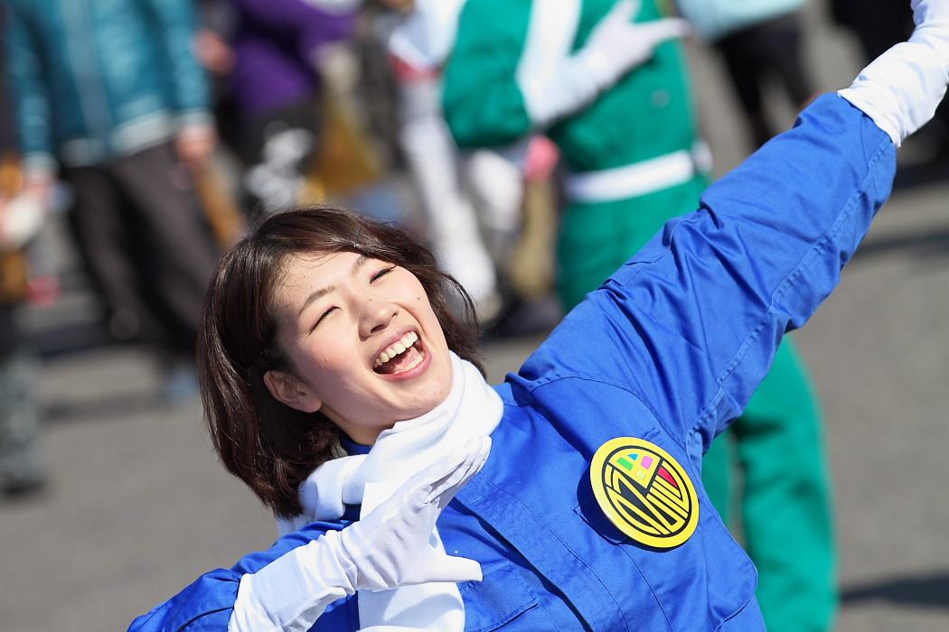 H2O・祭戦隊 伝思レンジャー・MAIYA@福おに祭_c0187584_1826337.jpg