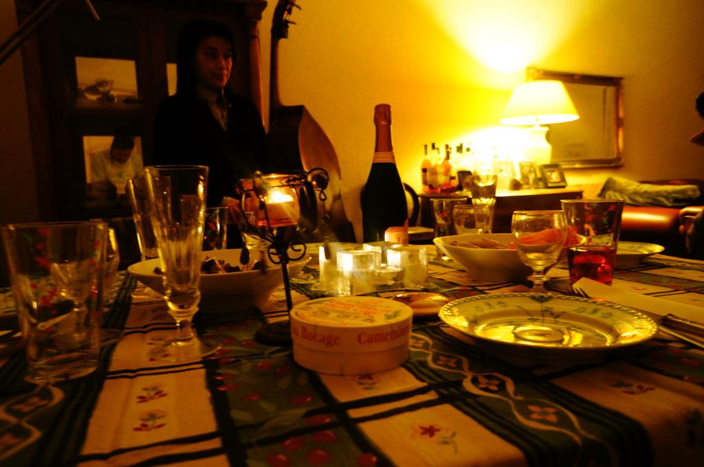 楽しいリハ+美味しい晩餐。_c0180686_2025913.jpg