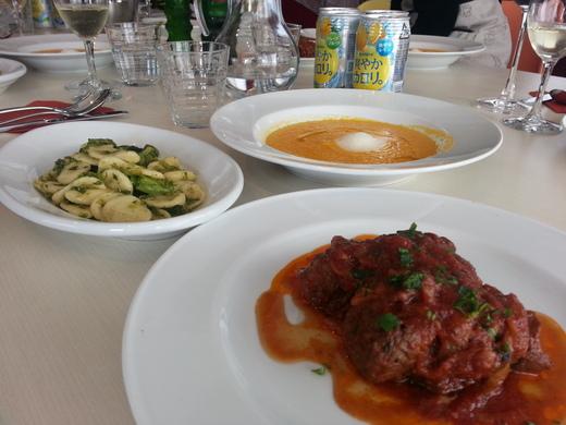 今日はイタリア料理教室_e0276388_1535454.jpg
