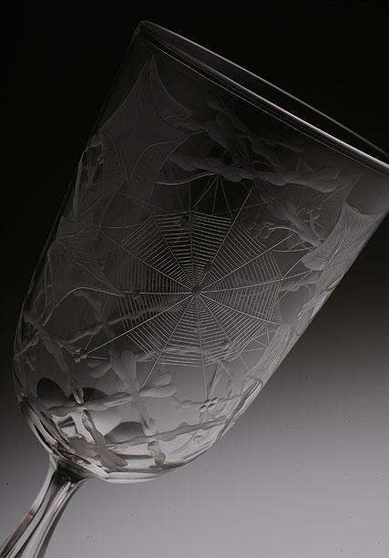 英国 Spider グラヴュール Glass_c0108595_637267.jpg