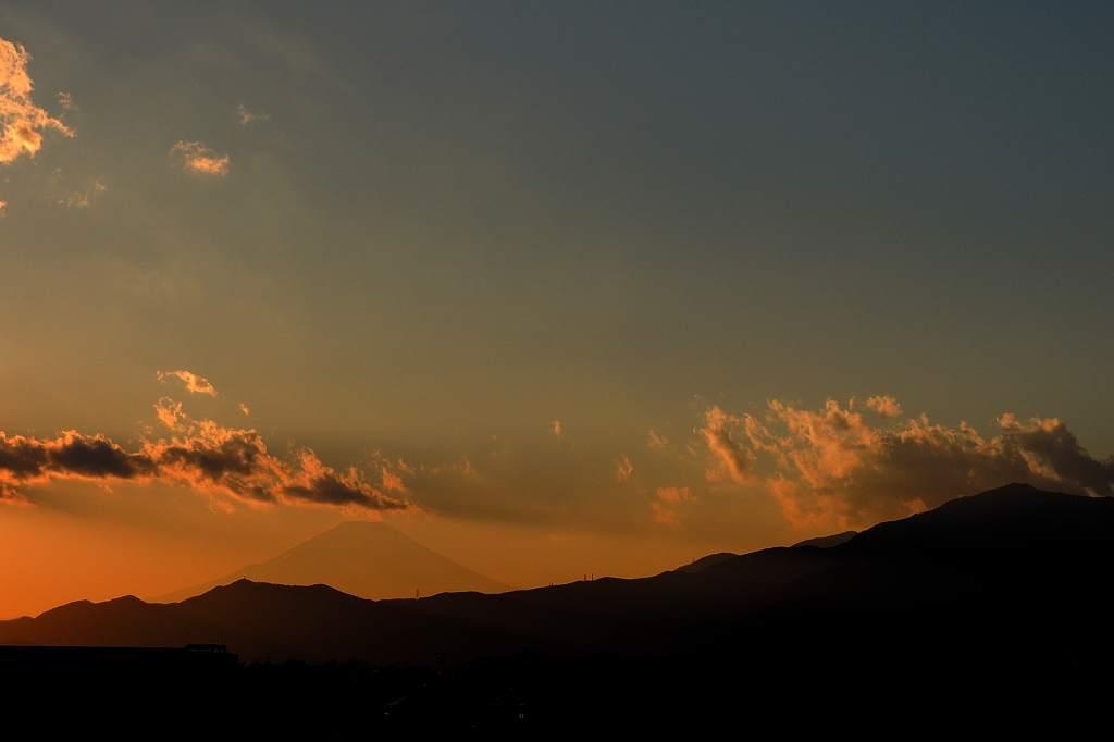 逆さカワセミ/今日のMF(カワセミ&アリスイ)/夕方の富士山/お昼の三日月_b0024798_20405655.jpg