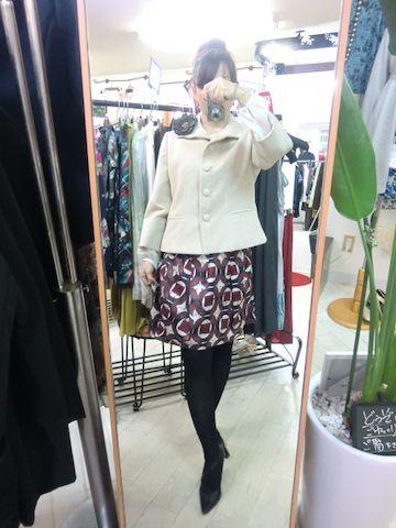 着まわしJKと柄のスカート♪_a0159045_1701552.jpg