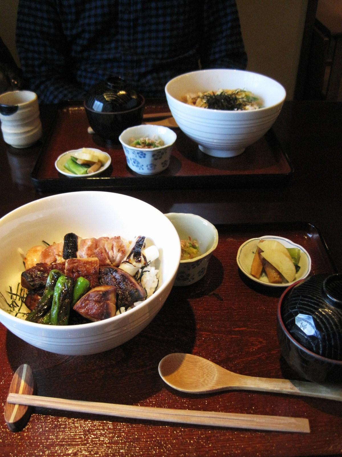 炭火焼鳥・こみやま 『フォアグラ丼』 @旧軽井沢_f0236260_21221421.jpg