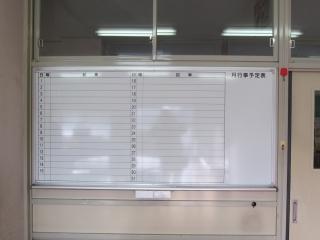 黒板をホワイトボードに模様替え_c0215194_22152015.jpg
