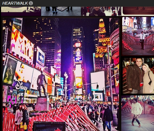 NYのタイムズスクエアに、歩いて楽しむ愛のアート、ハート・ウォーク(Heartwalk)登場中_b0007805_1322669.jpg