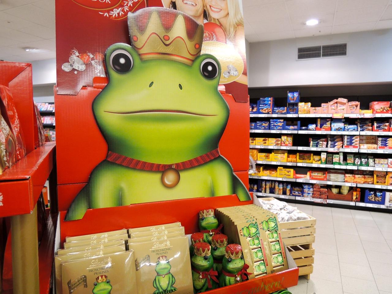 「かえるの王さま」チョコレート_e0175918_595023.jpg