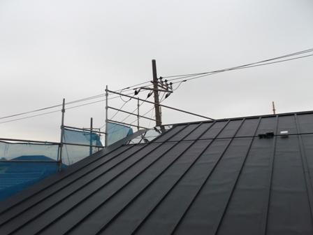 「いただきハウス」そよ風のガラス上げ作業_f0170331_1832583.jpg
