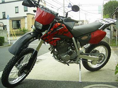 XR250 カスタム_b0118834_15105679.jpg