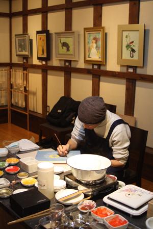 蔵織 日本画塾作品展は好評につき17日(日曜日)まで延長します_d0178448_047536.jpg