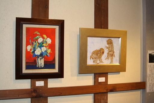 蔵織 日本画塾作品展は好評につき17日(日曜日)まで延長します_d0178448_0562082.jpg